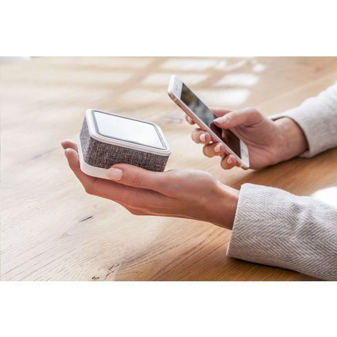 Wireless Charger (Kabelloses Ladegerät) mit Bluetooth-Lautsprecher Buzz