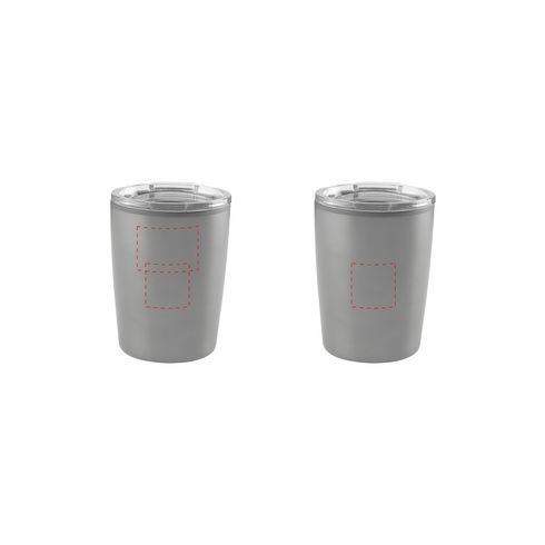 Mit Ihrer Marke versehener Espresso-Reisebecher · 160 ml