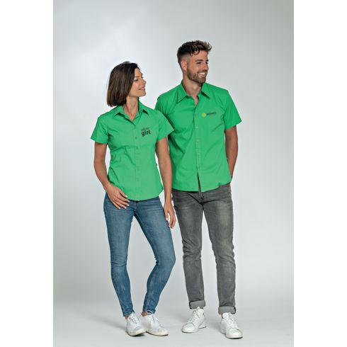 L&S Poplin Shortsleeve Herrenhemd