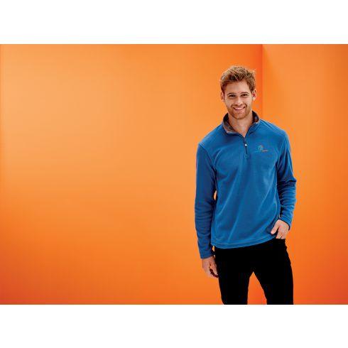 Regatta Micro Zip Neck Fleece Sweater Herren