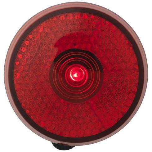 Shini rotes Reflektorlicht