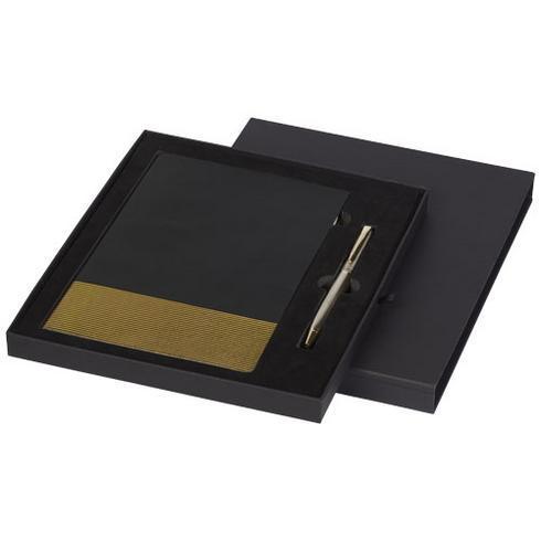 Midas Geschenkset mit A5 Notizbuch und Stift