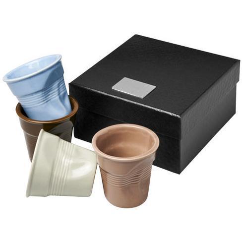 Milano 4-teiliges Espressobecher-Set aus Keramik