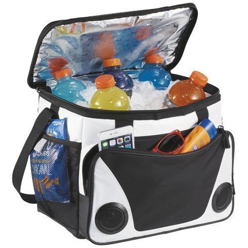 Titan ThermaFlect® Kühltasche für 24 Dosen mit Lautsprechern
