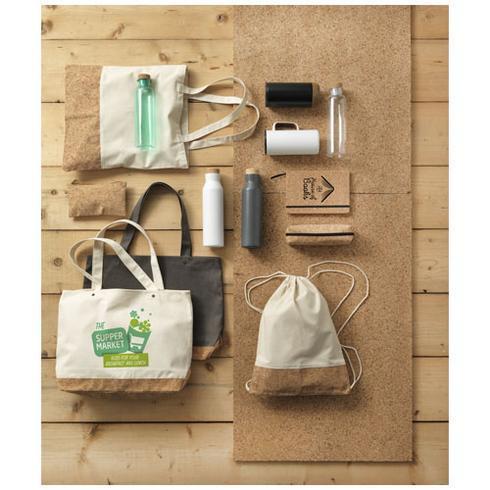 Napa Baumwoll- und Korktasche, 406 g/m²