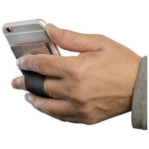 Storee Silikon Smartphonehülle mit Finger Slot