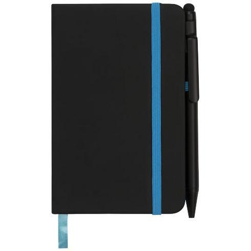 Noir Edge A6 Notizbuch mit farbigem Rand