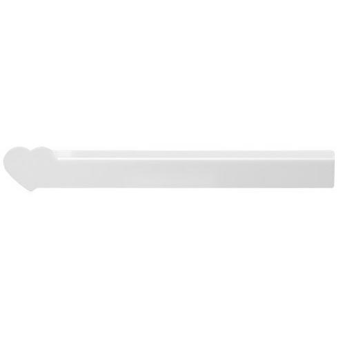Loki 30 cm herzförmiges Kunststofflineal