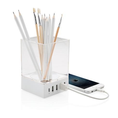 Stiftehalter mit USB-Ladegerät